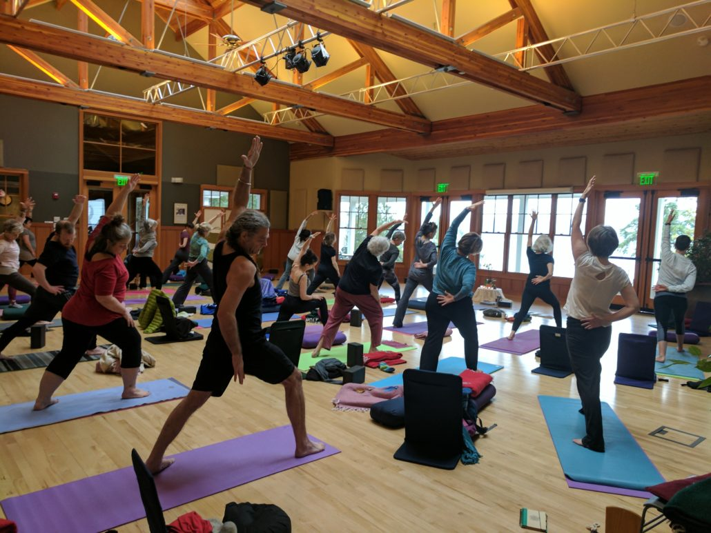 Laura Yon yoga retreat at Harmony Hill Retreat Center